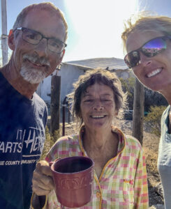 Fran with Bruce and Sonja